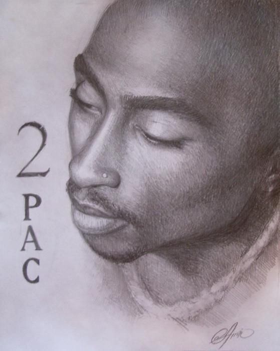 Tupac par Amra
